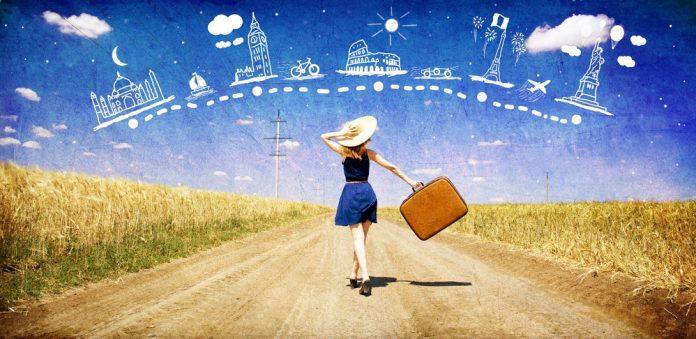 Women travelers round the world